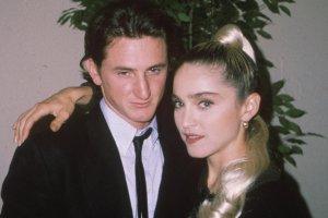 sean Penn and Madonna